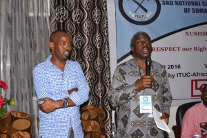 ITUC-Africa General Secretary Kwasi Adu-Amankwah