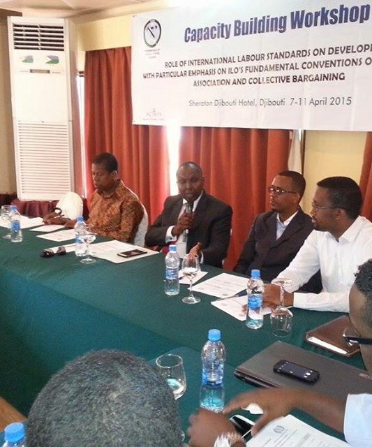 ILO & FESTU conclude national capacity building workshop for Somali Trade Unions