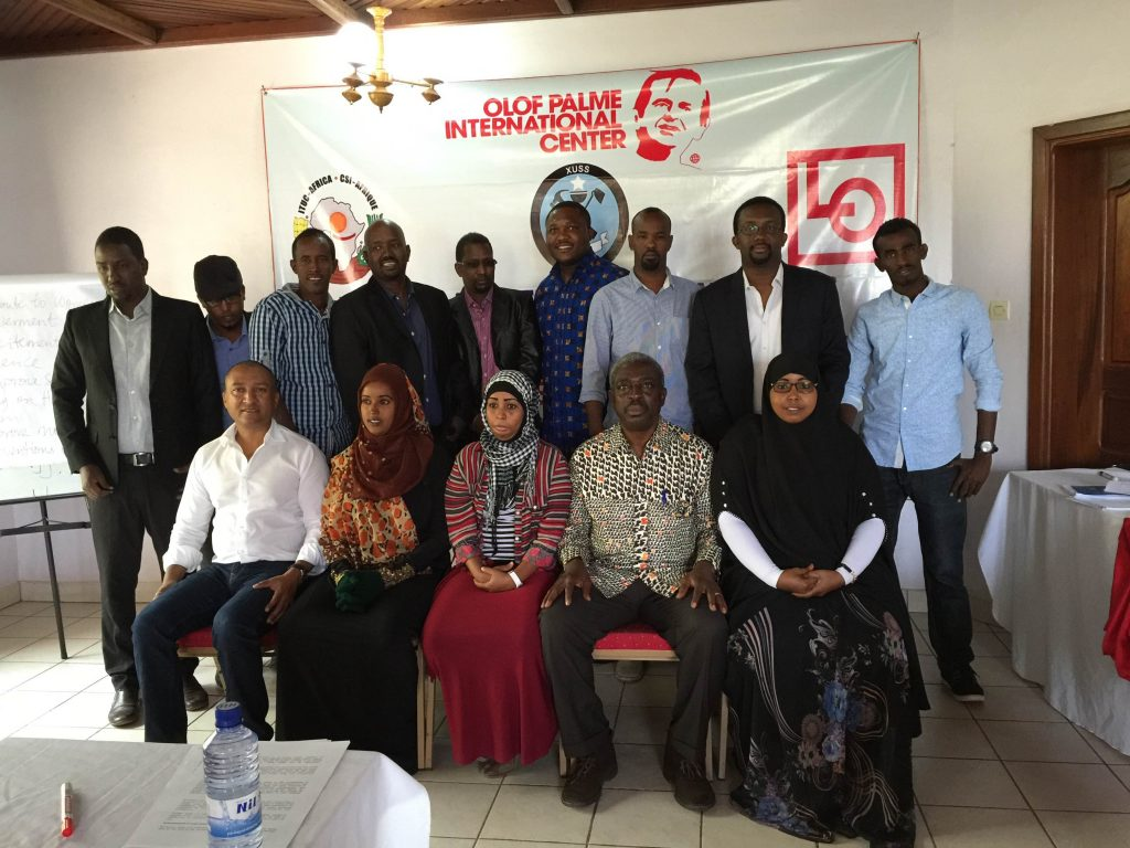 Trade unions' workshop highlights human and trade union rights